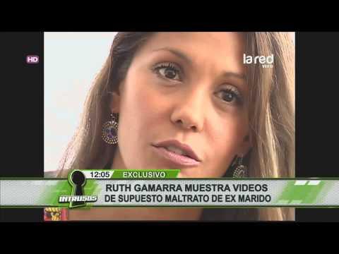 Ruth Gamarra presentó pruebas del maltrato de su ex marido