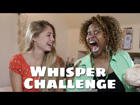 Whisper Challenge with GloZell