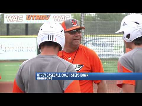 UTRGV baseball coach steps down