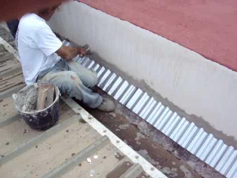 Como instalar zinc acanalado