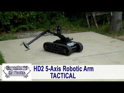 Watch a Tactical Robot from SuperDroid Robots in Action