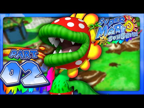 Super Mario Sunshine - Part 2- Bianco Hills (Dolphin HD)