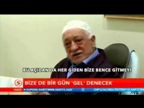 Muhterem Fethullah Gülen Hocaefendi: