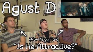 "Download Lagu Agust D(Suga) - Agust D MV Reaction (Non-Kpop Fan) ""Is He Attractive"" Gratis STAFABAND"