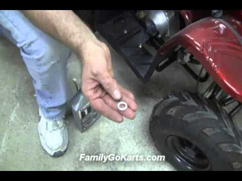 Mini and Youth ATV Oil Change