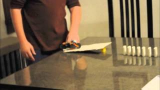 Matthew and Ami's Rube Goldberg Watering a Plant Science Fair 03:05