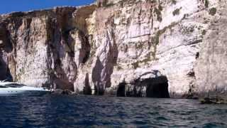 Boat trip through Blue Grotto in Malta