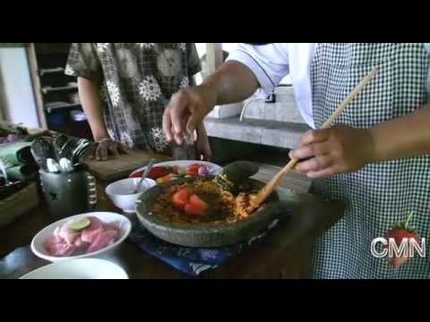 Chef Mark's Indonesian Adventure concludes with a trip to the Wayan Cooking School in Bali, where Ch