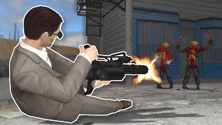 ACTION GMOD ZOMBIE SURVIVAL! - Garry's Mod Gameplay - Action Addon Survival