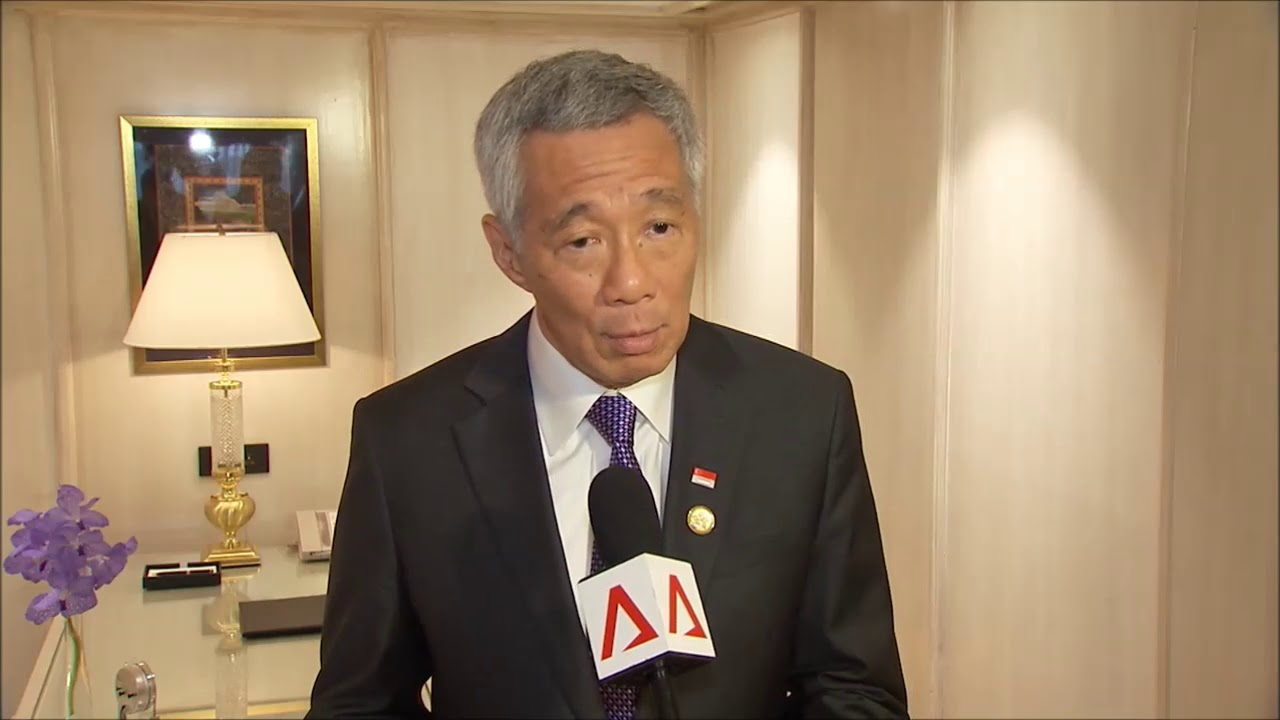 PM Lee speaks about Singapore's 4G leadership transition