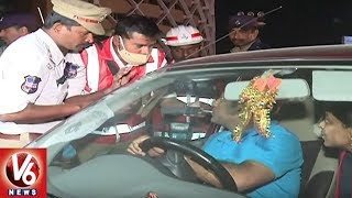 Traffic Police: Drunk And Drive Cases Raised In Hyderabad City