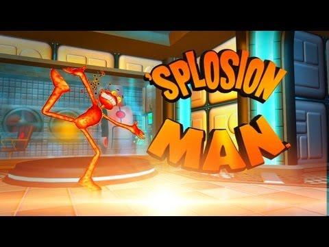 Splosion Man - Um Game Explosivo  - Noberto Gamer