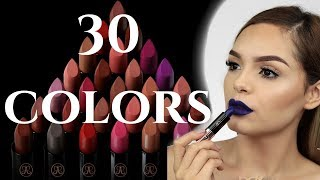 Anastasia Beverly Hills NEW Matte Lipstick Swatches Fall 2017| A1DeLaTorre