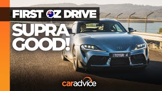 All-new Toyota Supra 2020. In-depth review, exhaust sound and Tetsuya Tada interview! | CarAdvice
