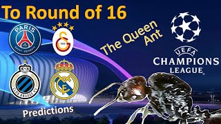 Champions League 2019/20 | PSG vs Galatasaray | Club Brugge vs Real Madrid | Queen Ant predictions