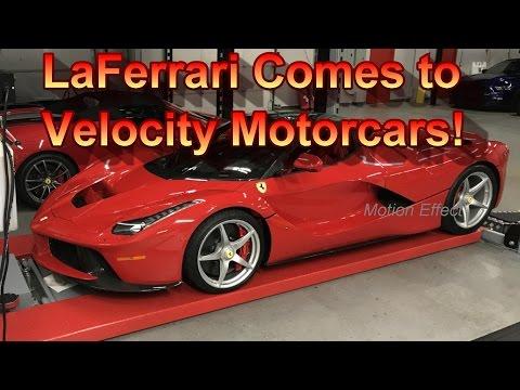 We check out the Ferrari LaFerrari!