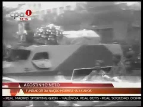 António Agostinho Neto morreu a 36 anos