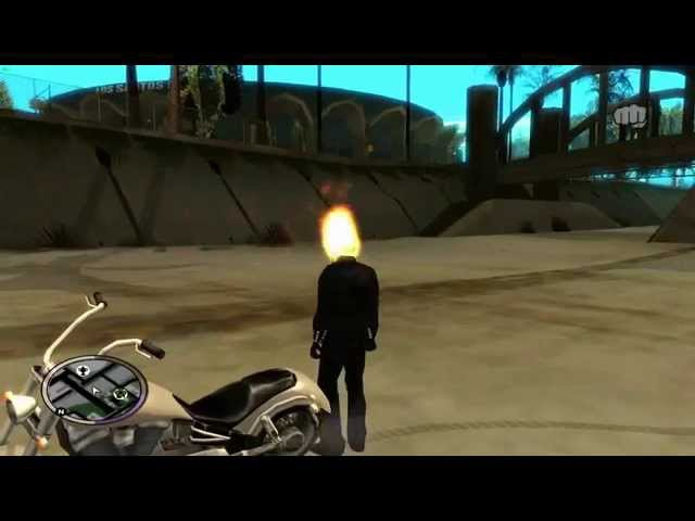 GTA SA - Ghost Rider mod V1.4 BETA