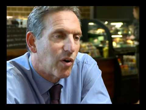 Starbucks CEO Howard Schultz Talks Tough Decisions