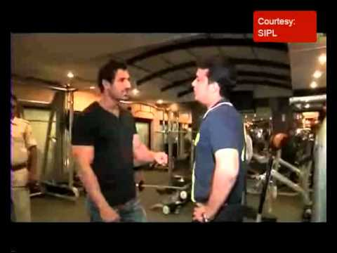 John Abraham gives tips to build a good physique to Star News' Siddharth Sharma
