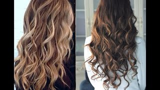 How to curl your hair without heat !!