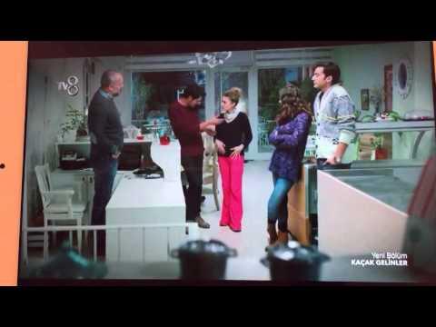 Kaçak Gelinler 21.bölüm Özgür'den Ivana Sert taklidi