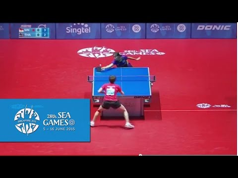 Table Tennis Women's Singles Round Robin Singapore vs Thailand | 28th SEA Games Singapore 2015