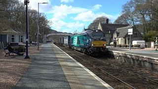 68018 working 4D47 Inverness   Mossend Tesco - 15 45 - 16-04-16