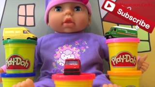 Play Doh машинки все серии подряд / Learn colors for kids with Play Doh end Cars