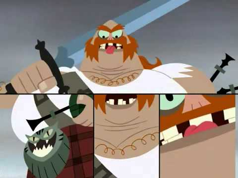 In honor of the show returning: One of my favorite scenes from Samurai Jack - The Scotsman's insult
