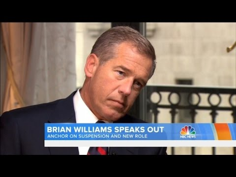 Brian Williams Breaks Silence on NBC Suspension: 'It Has Been Torture'