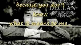 Watch Declan Galbraith Love Of My Life video