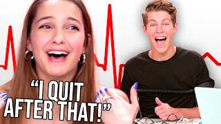 Lexi Rivera and Ben Azelart take a LIE DETECTOR TEST! | Detected