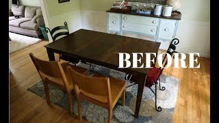 BEFORE & AFTER: Dining Room Makeover With the Chroma Painting System (Kickstarter)