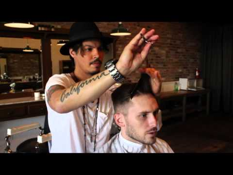 David Beckham / Nick Wooster Inspired Hairstyle New 2013 Men's Short Haircut