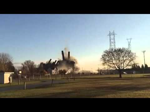 Marysville Power Plant Implosion