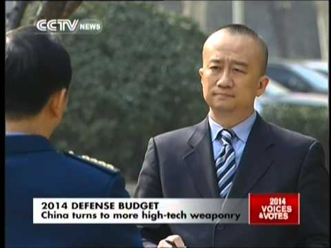 China planning to raise defense budget by 12.2% for 2014