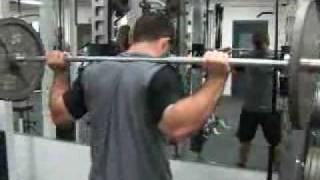 Dan Uggla full body workout