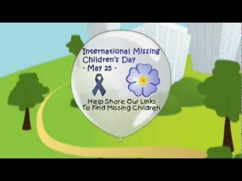 International Missing Children's Day on FACEBOOK - 2012 PSA Teaser -