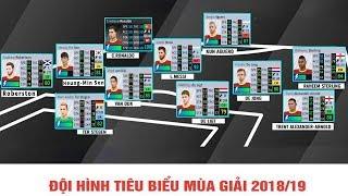 Đội hình tiêu biểu nhất Châu Âu mùa giải 2018/19 Dream League Soccer 2019