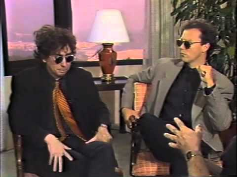 Tim Burton And Michael Keaton 1989