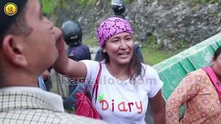 पोखराको नगरपालिकाले  सुकुम्बासी बस्तीे हटाउदा के भयो || Ramailo छ TV || Nepal Police 2017