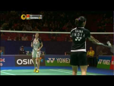 QF - WS - Li Xuerui vs Saina Nehwal - 2012 All England