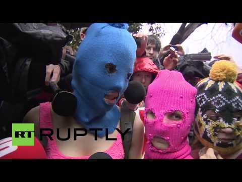 Russia: Pussy Riot members released after theft detention