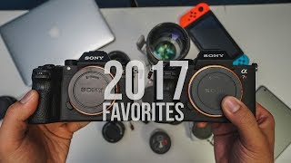 My Favorite Sony Camera and Lenses of 2017
