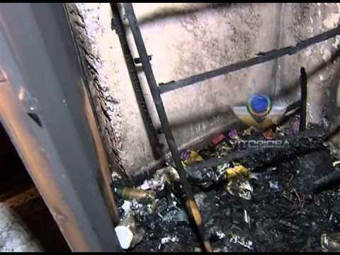 Salão de beleza é destruído por incêndio no Luizote