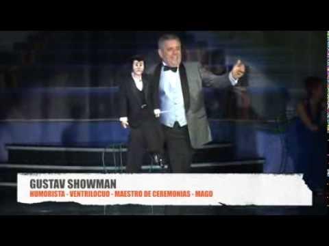 GUSTAV SHOWMAN (HUMORISTA, VENTRILOCUO Y MAGO)