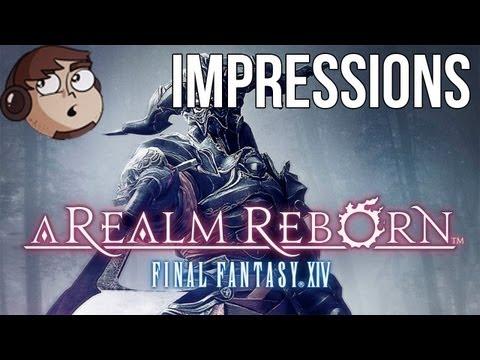 Impressions - Final Fantasy XIV - A Realm Reborn