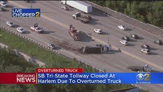 Dump Truck Accident Shuts Down I-294