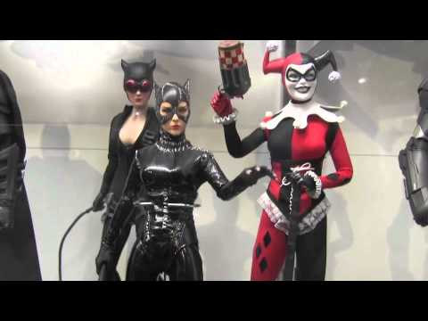Huge Display of Sideshow/Hot Toys @ Frank & Son Collectible Show